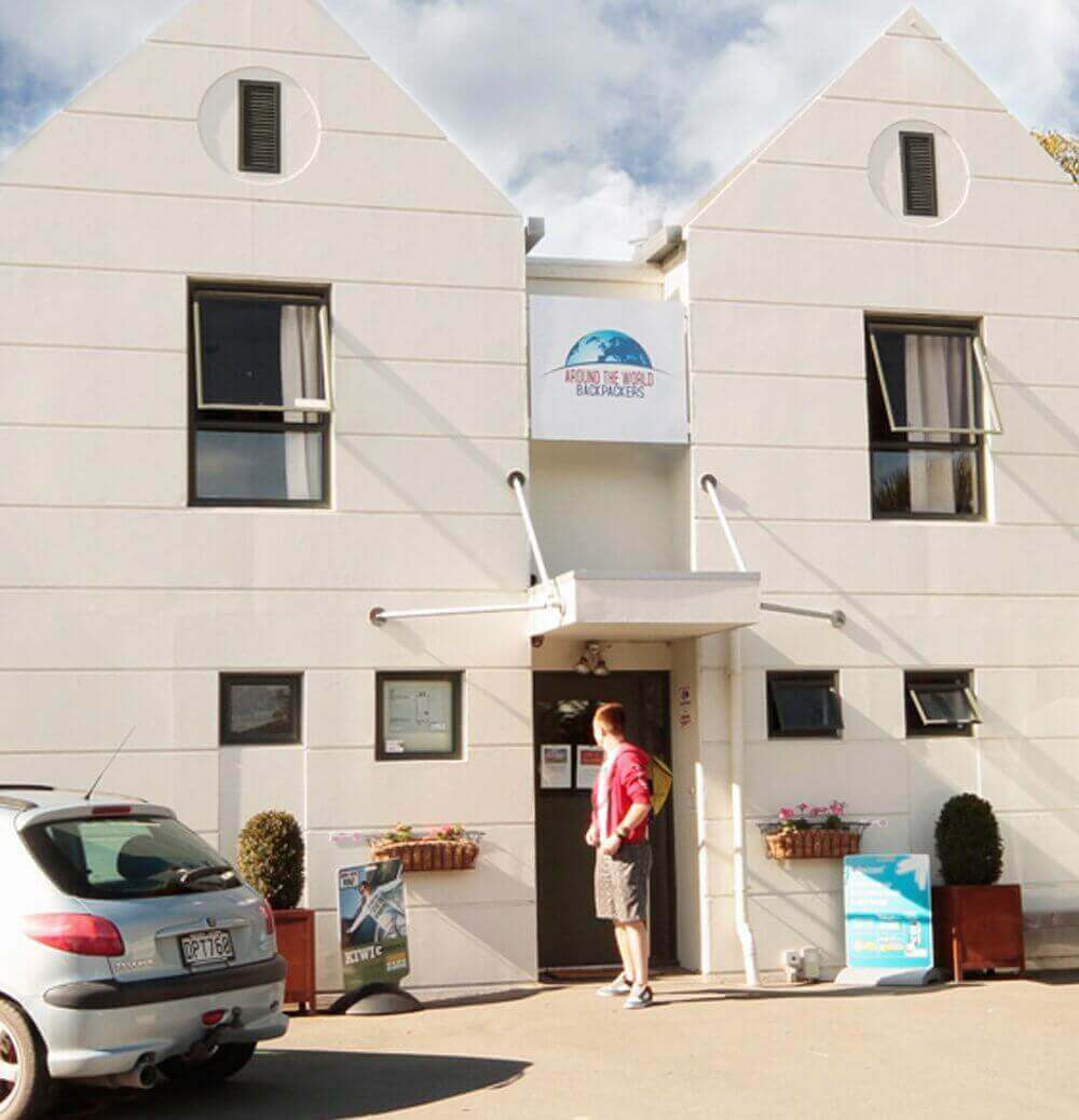 Around the World Backpackers accommodation in Christchurch NZ