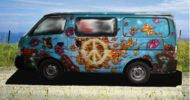 Flaming Peace Campervan