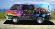 Forest Creatures Self Contained Campervan