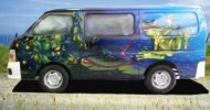Freaky Frogs Self Contained Campervan