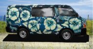 Green Hibiscus Self Contained Campervan