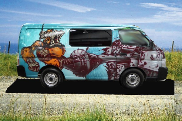 King Kong Campervan