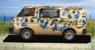 Kowhai Beige Self Contained Campervan