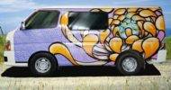 Lotus Flower Self Contained Campervan 2
