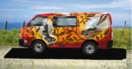 Orange Fantails Self Contained Campervan
