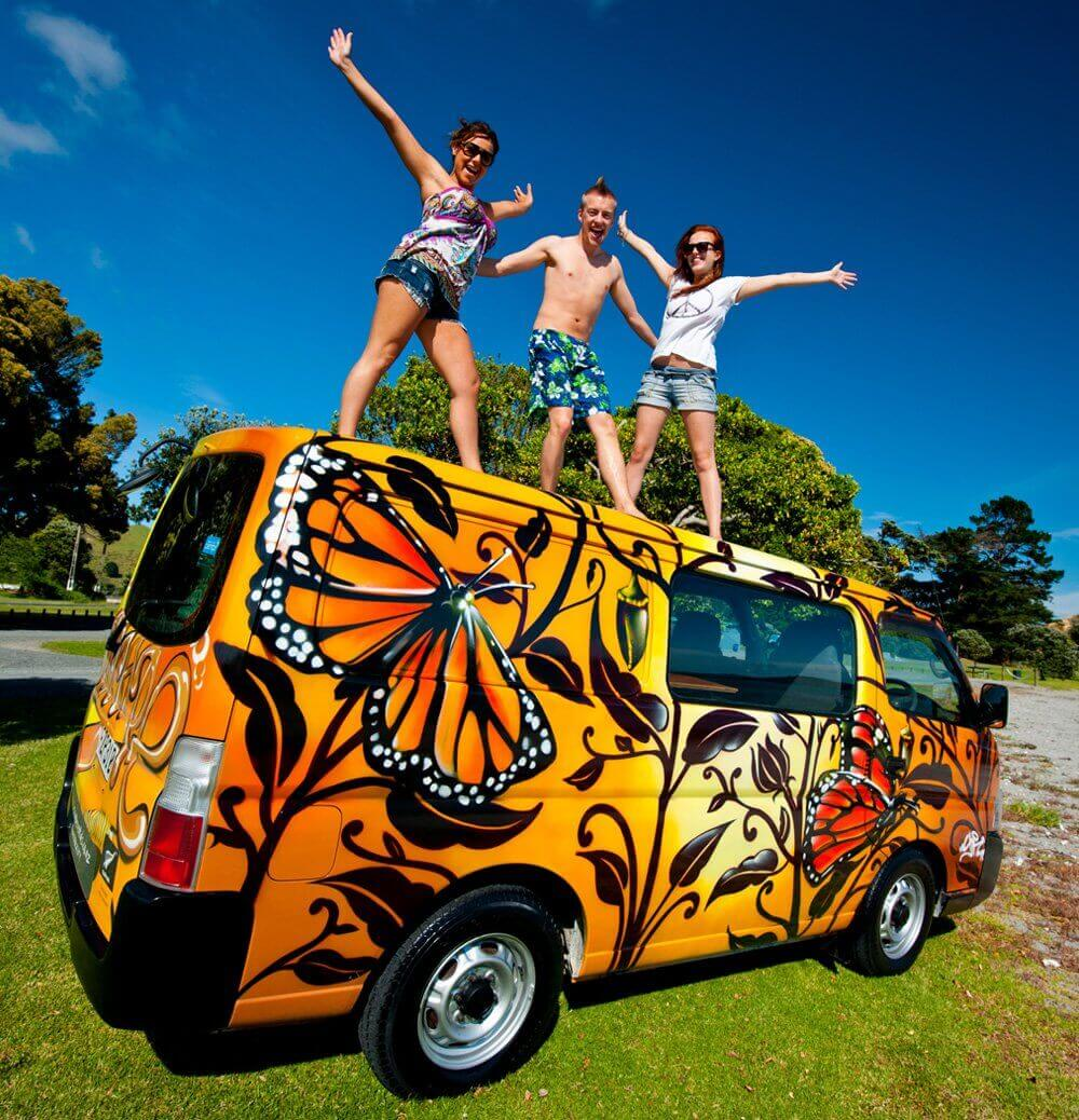 200 uniquely New Zealand campervan designs