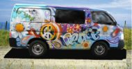 Peace and Love Campervan