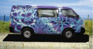Purple Lava Campervan