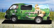 Rabbit Girl Campervan