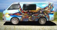 Sea Creatures Self Contained Campervan