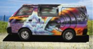 Sunset Wave Campervan