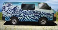 Surfer Dan self contained campervan