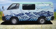 Surfer Dan self contained campervan 2