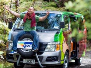 Escape Rentals campervan