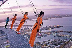 Auckland City Sky Tower SkyWalk